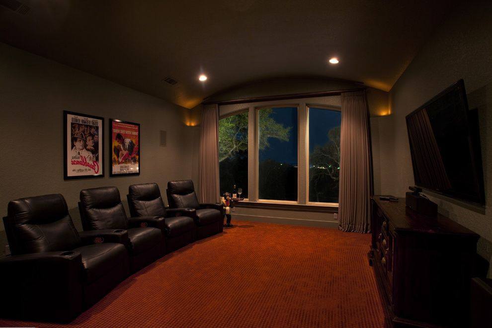 Rialto Theater San Antonio with Mediterranean Home Theater Also Building Your Home Custom Home Builders in Texas Custom Homes Elite Texas Builders Home Builders Paul Allen Homes San Antonio San Antonio Builders Texas
