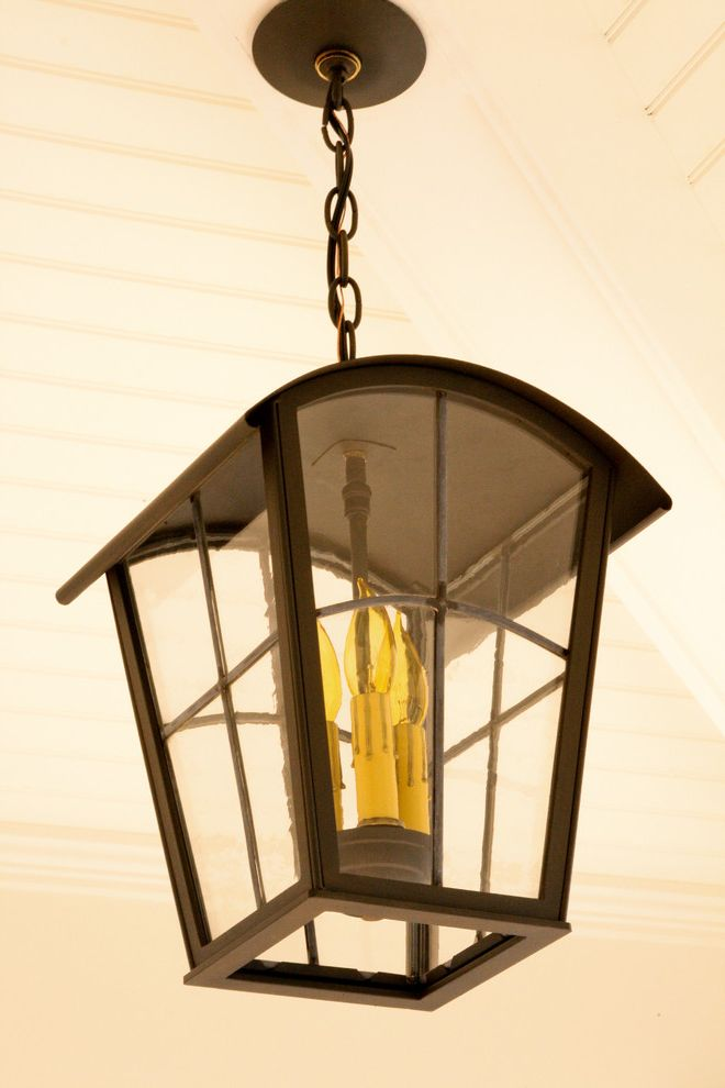 Rittenhouse Electric with Traditional Spaces and Barrel Roof Lantern Exterior Hanging Lantern Hanging Lantern Leaded Glass Hanging Lantern