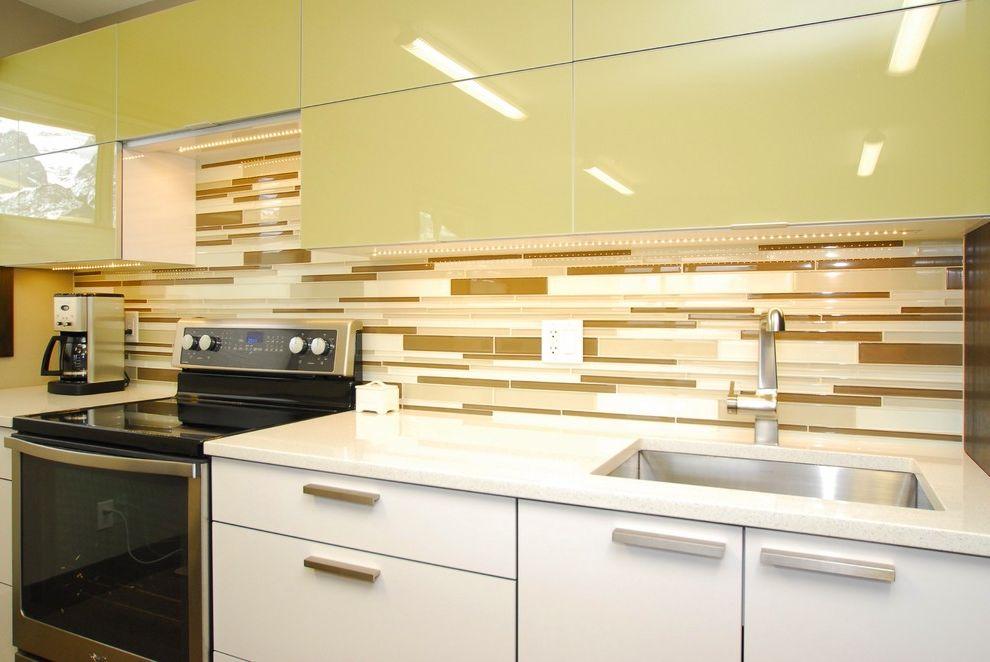 Riverstone Quartz   Contemporary Kitchen Also Alberta Bellmont Cabinets Canmore Riverstone Kitchens