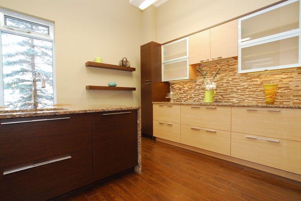 Riverstone Quartz   Contemporary Kitchen  and Contemporary