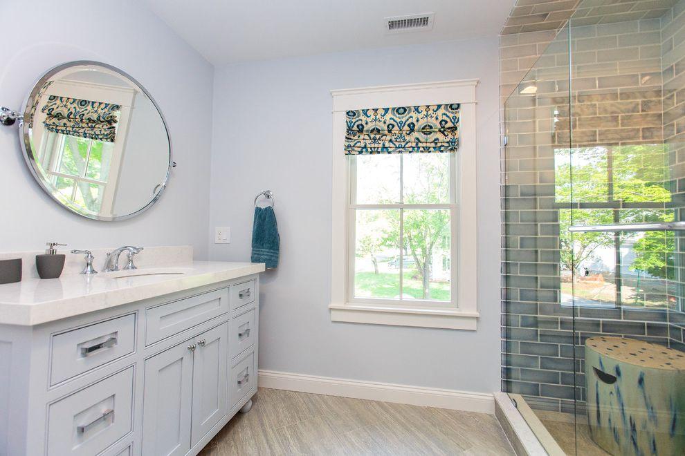 Riverstone Quartz with Farmhouse Bathroom Also Farmhouse