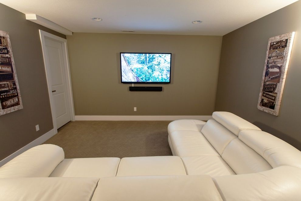 Rockport Theater with Contemporary Home Theater Also Home Theatre Retreat Tv Room