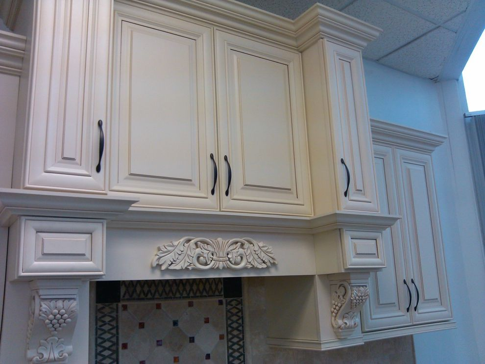Rtacabinets   Traditional Spaces  and Cream Maple Glaze Rta Cabinets