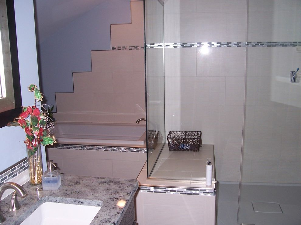 Ruby & Quiri   Contemporary Bathroom  and Contemporary