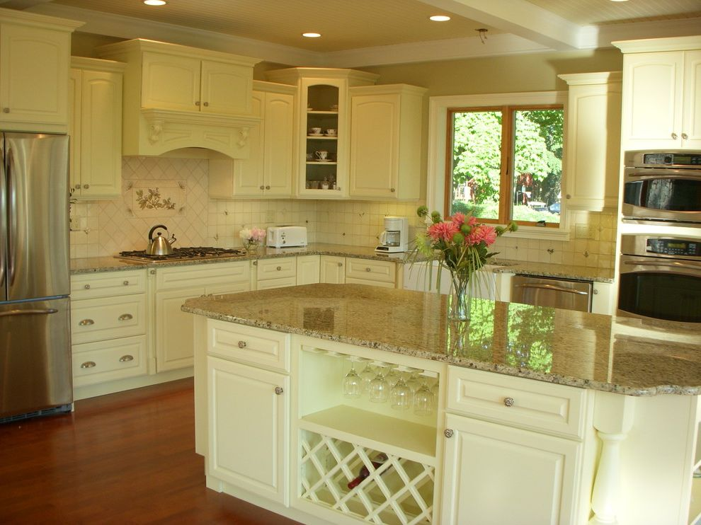 Ruby & Quiri with Traditional Kitchen Also Tile Backsplash and Mirage Hardwood Floo