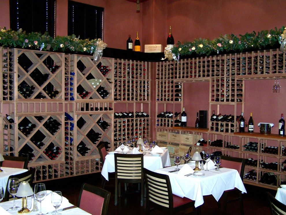 Ruth's Chris Jacksonville   Traditional Wine Cellar  and Wine Cellars