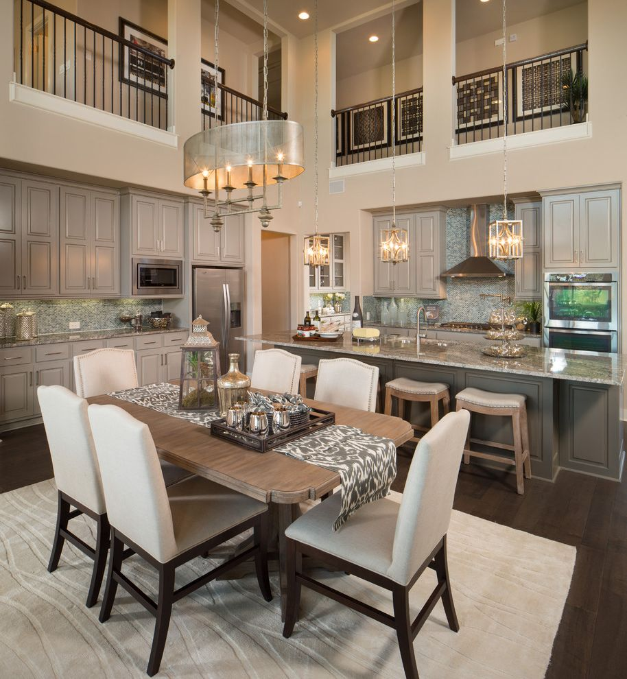 Savoy Pittsburgh with Transitional Dining Room Also Interior Desogn Model Home Merchandising Wall Details