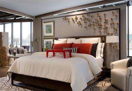 Scott Shuptrine with Contemporary Bedroom Also Contemporary