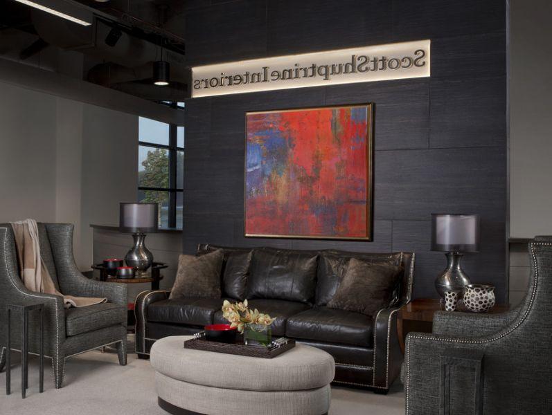 Scott Shuptrine with  Living Room  And