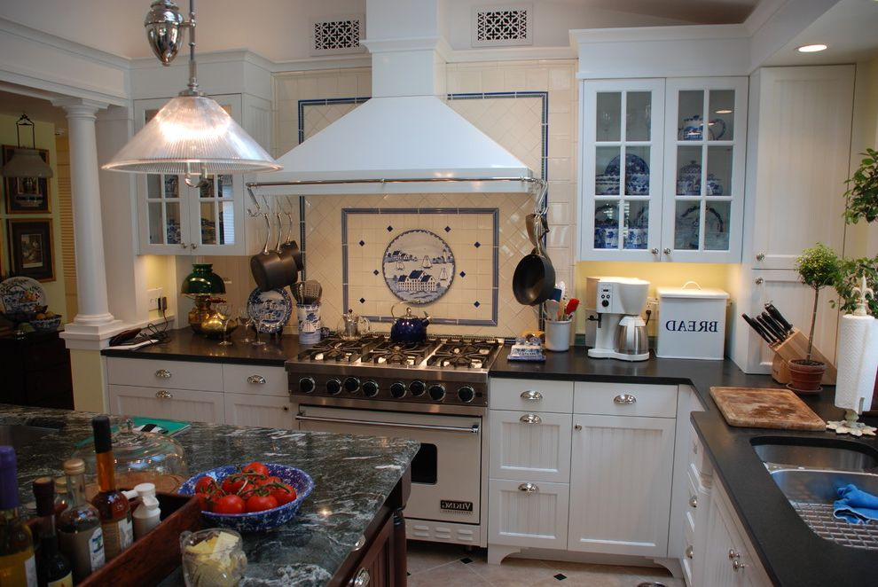 Sea Captains House   Traditional Kitchen  and Historic Preservation