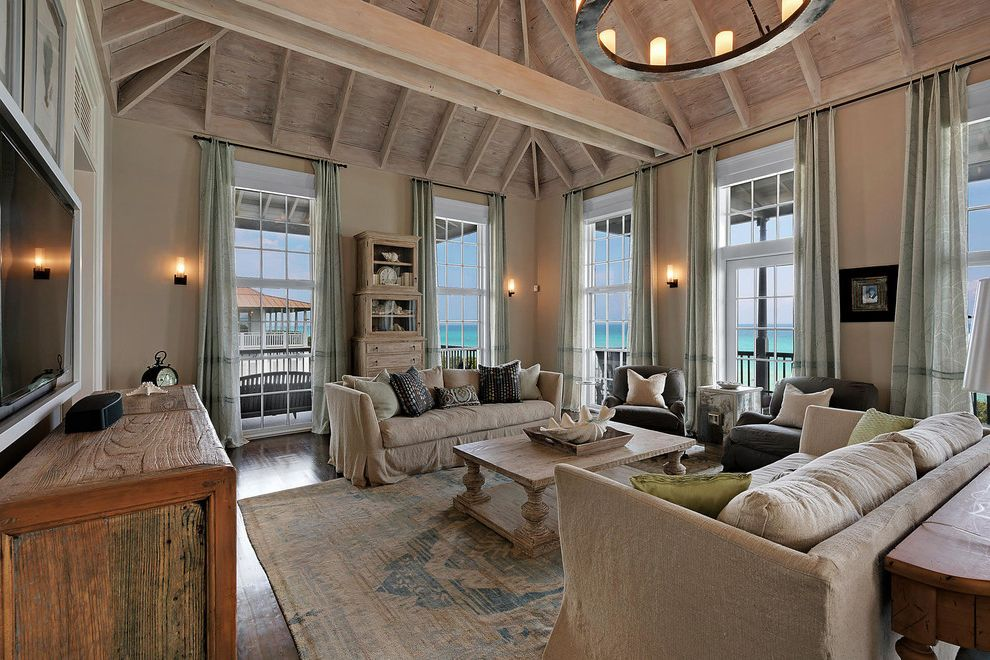 Seaside Fl Vacation Rentals with Beach Style Living Room Also Beach Style