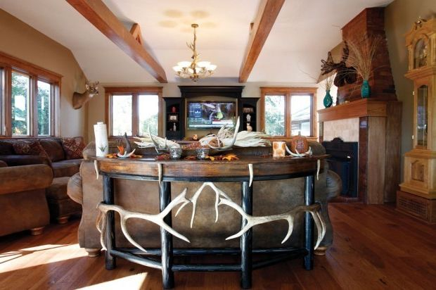 Seawall Beach Maine with Rustic Living Room  and Rustic