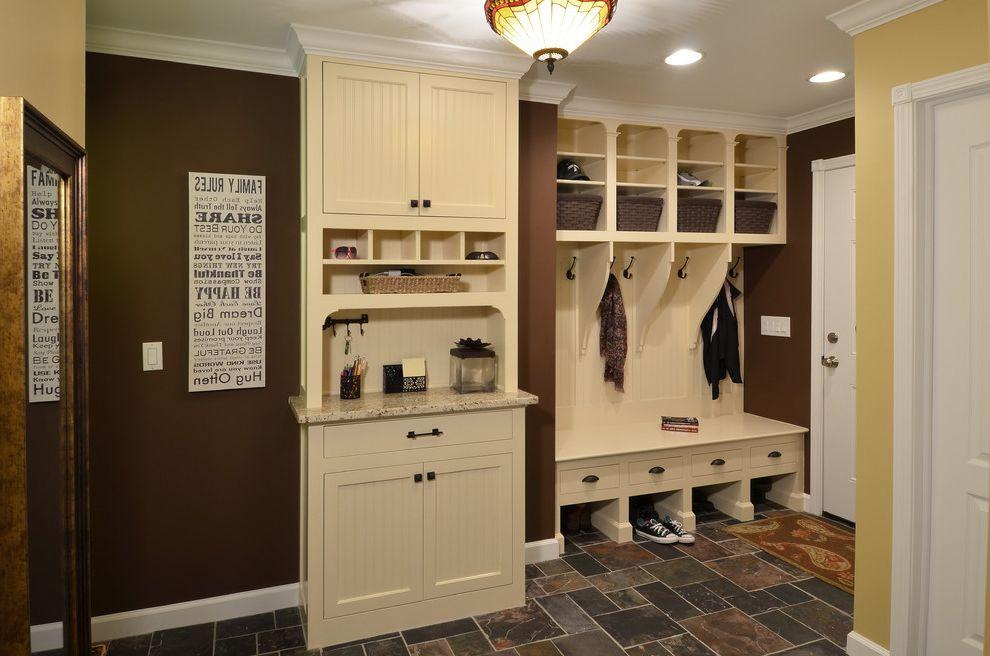 Serenity Rejuvenation Center   Traditional Entry Also Cubbies Garage Entry Lockers Mudroom Organization Storage Storage Solutions