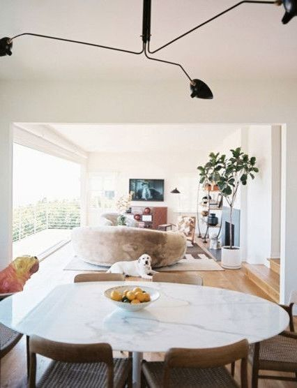 Serge Mouille Chandelier   Contemporary Dining Room Also Contemporary Dining Room Serge Mouille Serge Mouille Chandelier
