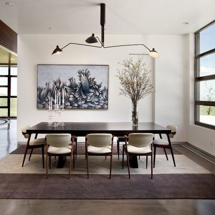 Serge Mouille Lighting Fixture For Contemporary Dining Room $style In $location
