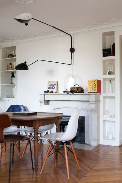 Serge Mouille Chandelier with Contemporary Dining Room Also Contemporary Dining Room Serge Mouille Serge Mouille Chandelier