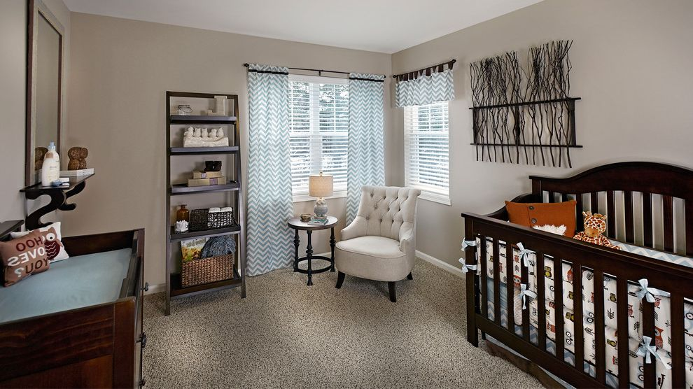 Shaw Carpet Reviews with Traditional Nursery  and Bumper Carpet Changing Table Chevron Drapes Crib Leaning Shelf Mirror Nursery Owls Sculpture Side Small Chair Table Tufted