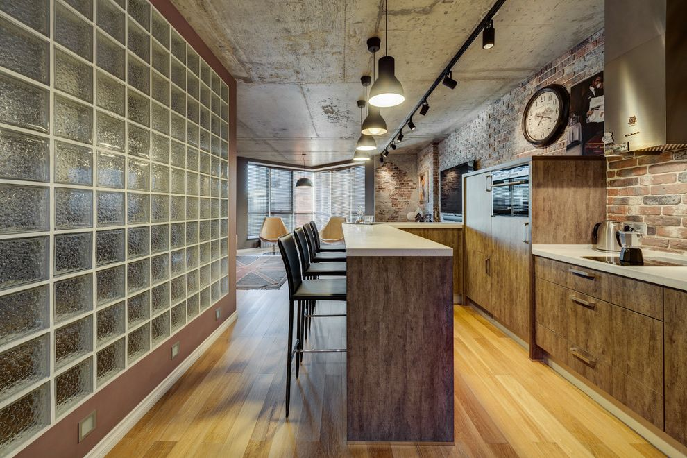 Shen Counters   Industrial Kitchen  and Loft