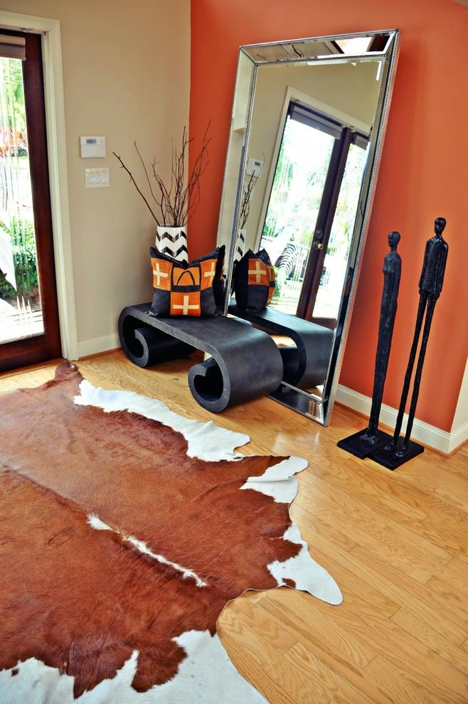 Sheridan Lumber with Transitional Spaces Also Cowhide ...