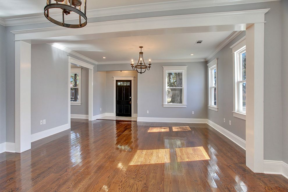 Sherwinn Williams   Craftsman Spaces Also Colonial Revival Gentilly Gentilly Terrace New Orleans Red Door Split Level