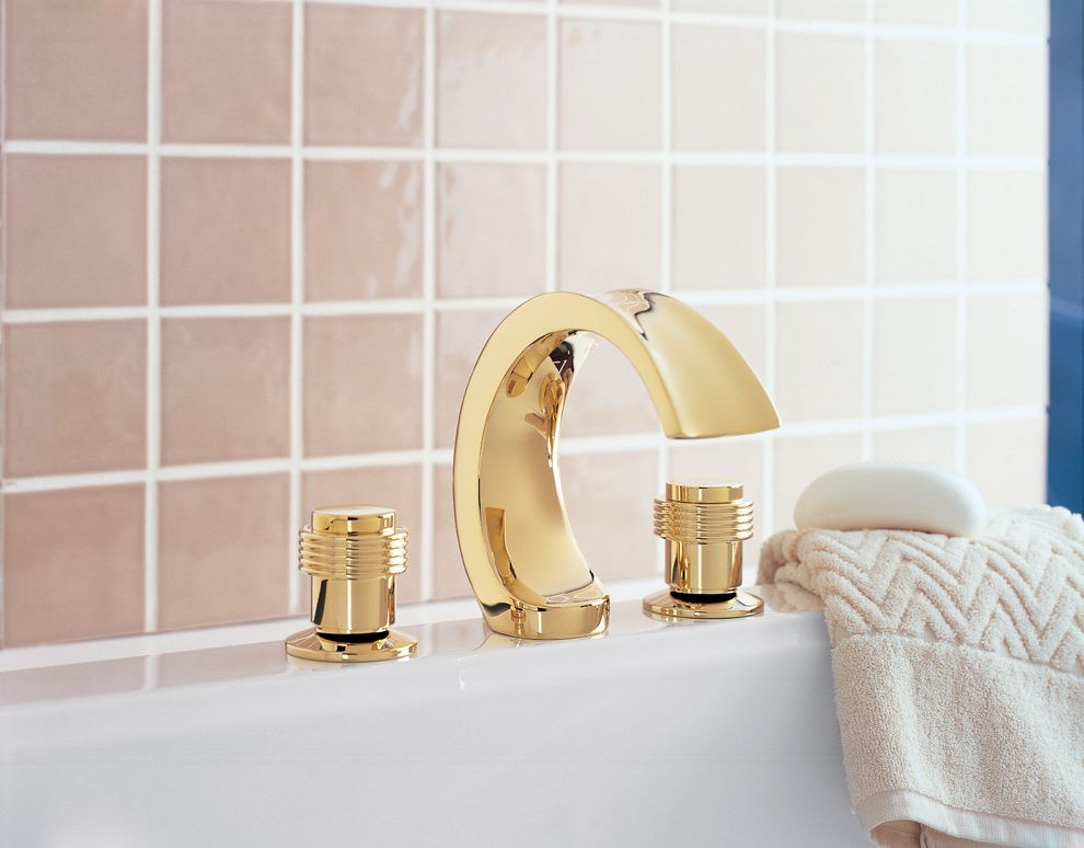 Sigma Faucets Contemporary Bathroom Also Gold Finish Sigma Faucet ...