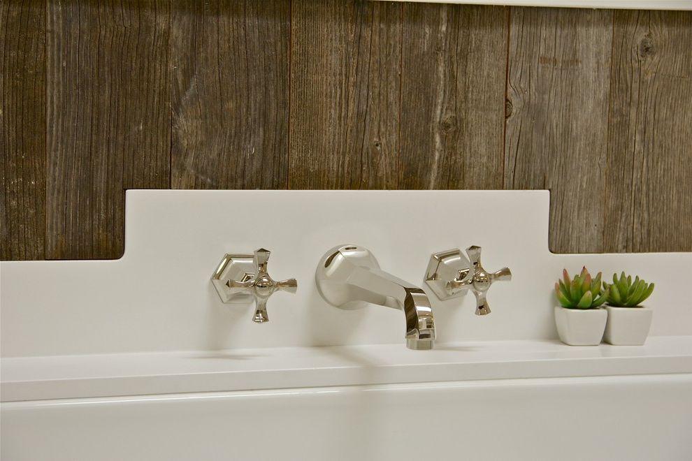 Sigma Faucets with Farmhouse Bathroom  and Farmhouse