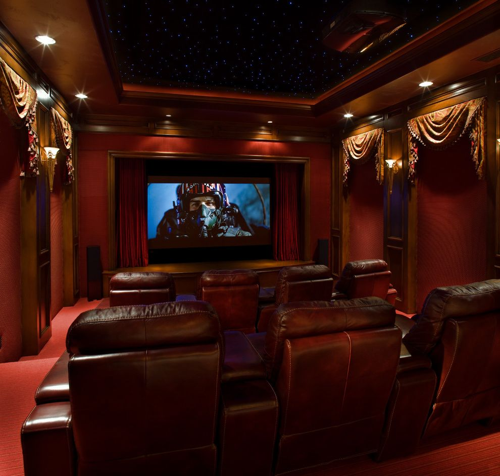 Signature Theater Kalispell   Traditional Home Theater Also Traditional