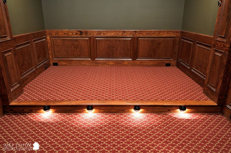 Signature Theater Kalispell with Traditional Home Theater Also Custom Floor Floor Lighting Home Theater Home Theatre Lighting Panels Raised Panels Theater Theatre Wall