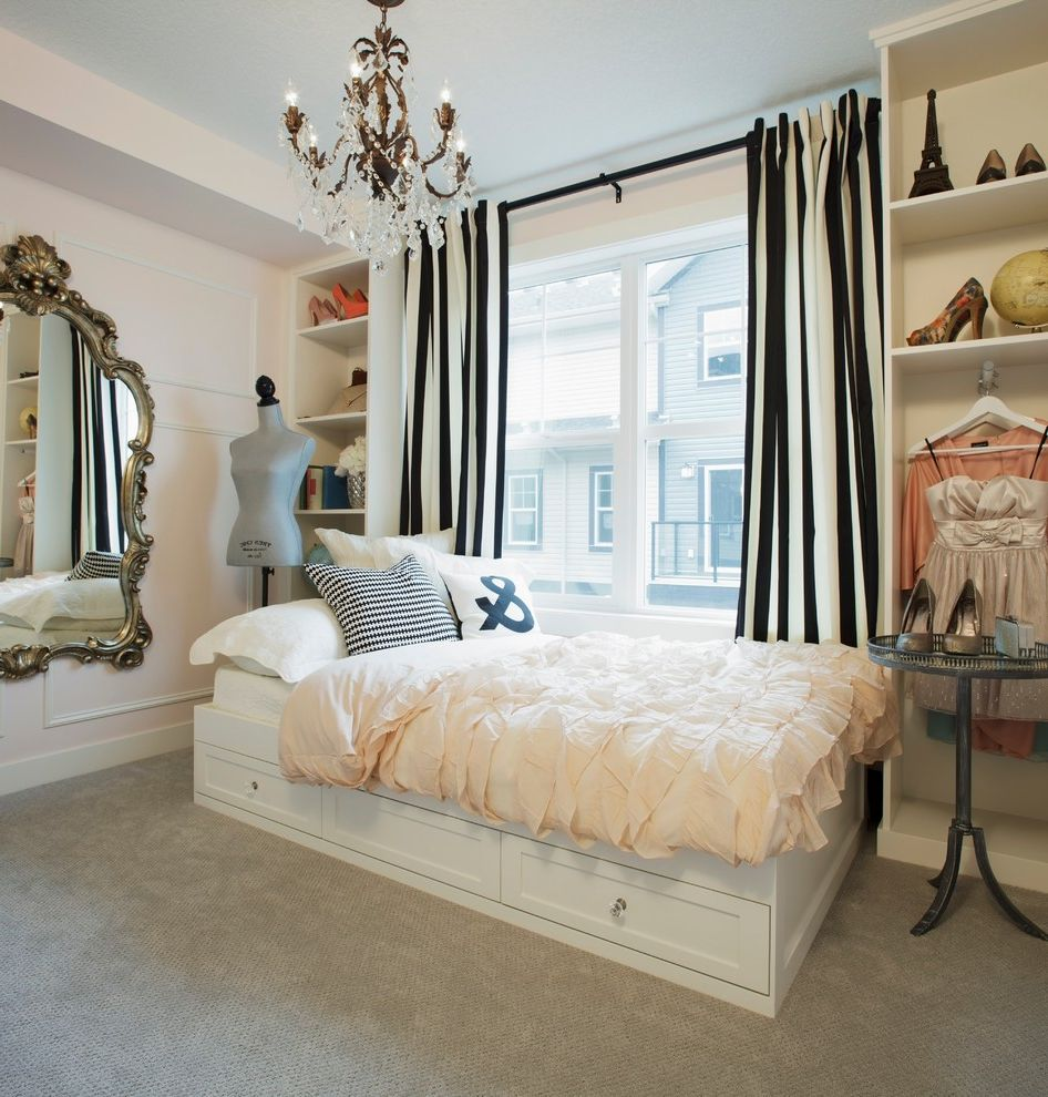 Sleep Number Bed vs Tempurpedic with Shabby Chic Style Bedroom  and Bedroom Black White Stripes Built in Shelves Carpeting Chandelier Dress Model Gilded Mirror Mosaic Mirage Ruffles Shoe Art Underbed Drawers