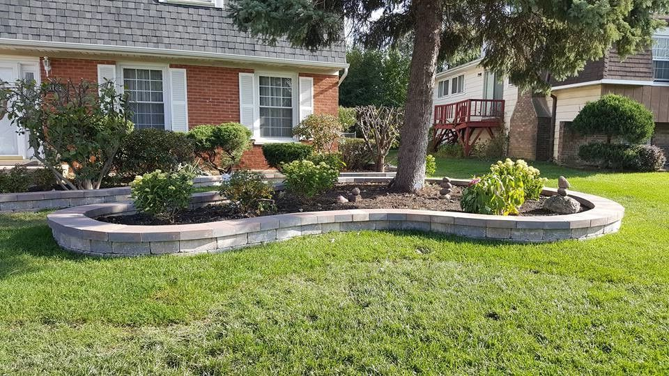 Smith Brothers Landscaping with  Spaces  And