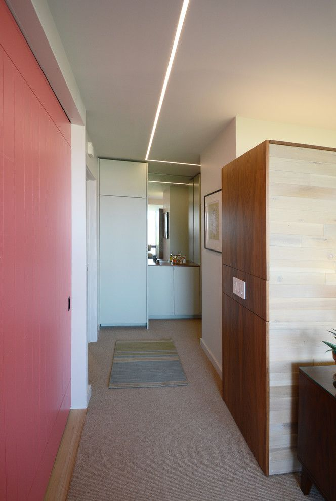 Society Hill Towers   Midcentury Spaces  and Apartment Condo Flat I M Pei Kitchen Cabinets Light Wood Floors Modern