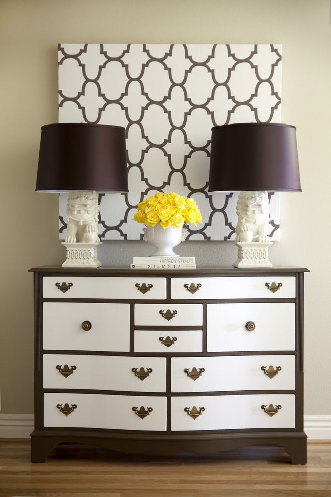 Solid Wood Chest of Drawers for Sale   Traditional Spaces Also Baseboards Chest of Drawers Dresser Floral Arrangement Foo Dogs Hollywood Regency Roses Symmetry Table Lamps Wall Art Wall Decor White Wood Wood Flooring Wood Trim