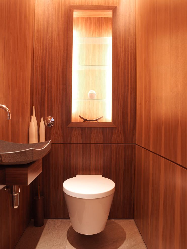 Solid Wood Furniture Brands with Contemporary Powder Room Also Bathroom Alcove Cloakroom Downstairs Toilet Loo Loo Alcove Luxury Toilet Mini Bathroom Powder Room Small Bathroom Toilet Wooden Bathroom Wooden Walls
