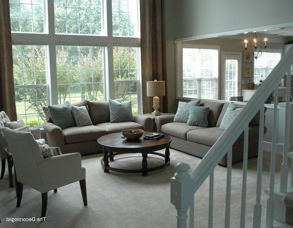 Southeastern Salvage Chattanooga   Contemporary Living Room Also Airy Contemporary Fresh Living Room Neutral