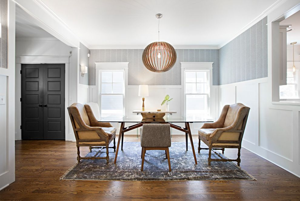 Southeastern Salvage Chattanooga   Midcentury Dining Room  and Airy Bright Midcentury Modern Neutrals