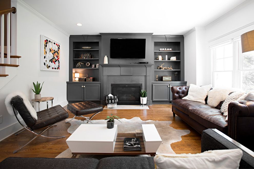 Southeastern Salvage Chattanooga with Midcentury Living Room Also Airy Bright Midcentury Modern Neutrals