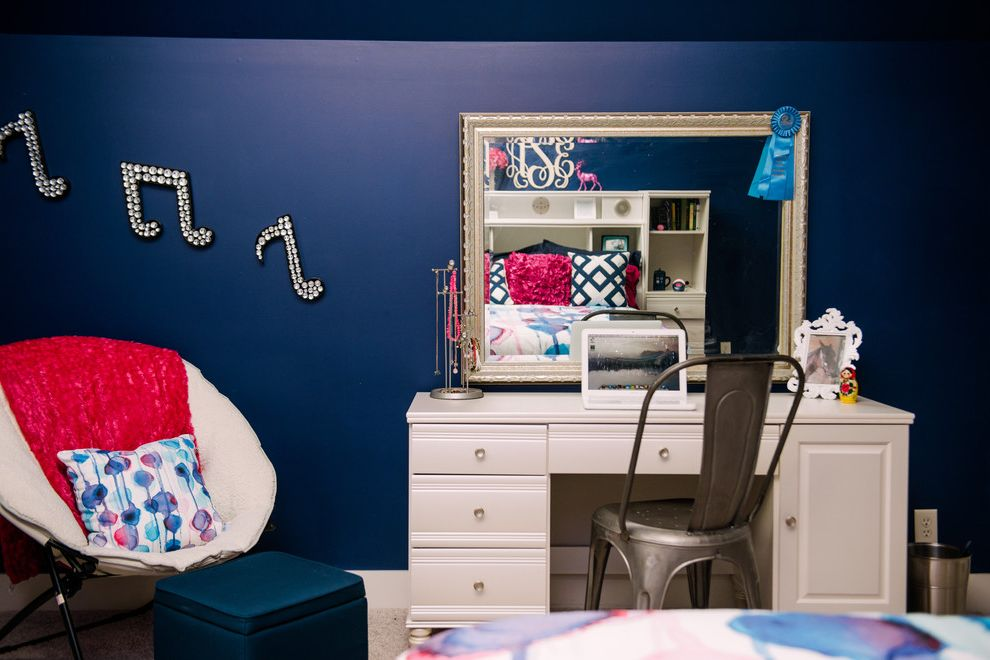 Southeastern Salvage Chattanooga with Traditional Kids  and Admiral Blue Dark Blue Girls Room My Houzz Teenage Girl Room
