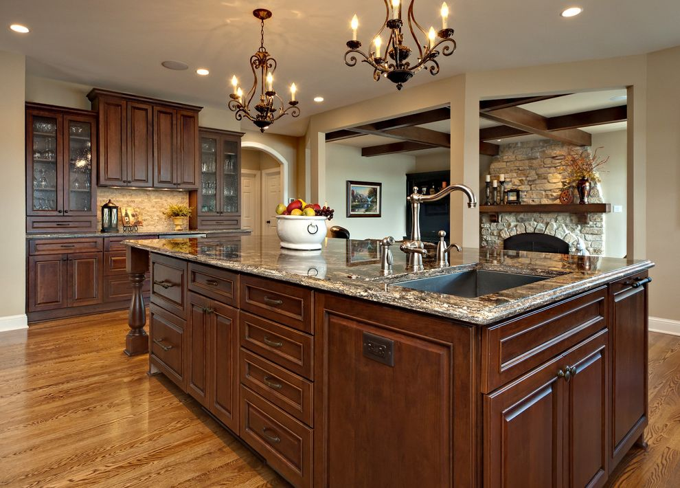 Southern Lights Mn   Traditional Kitchen  and Traditional