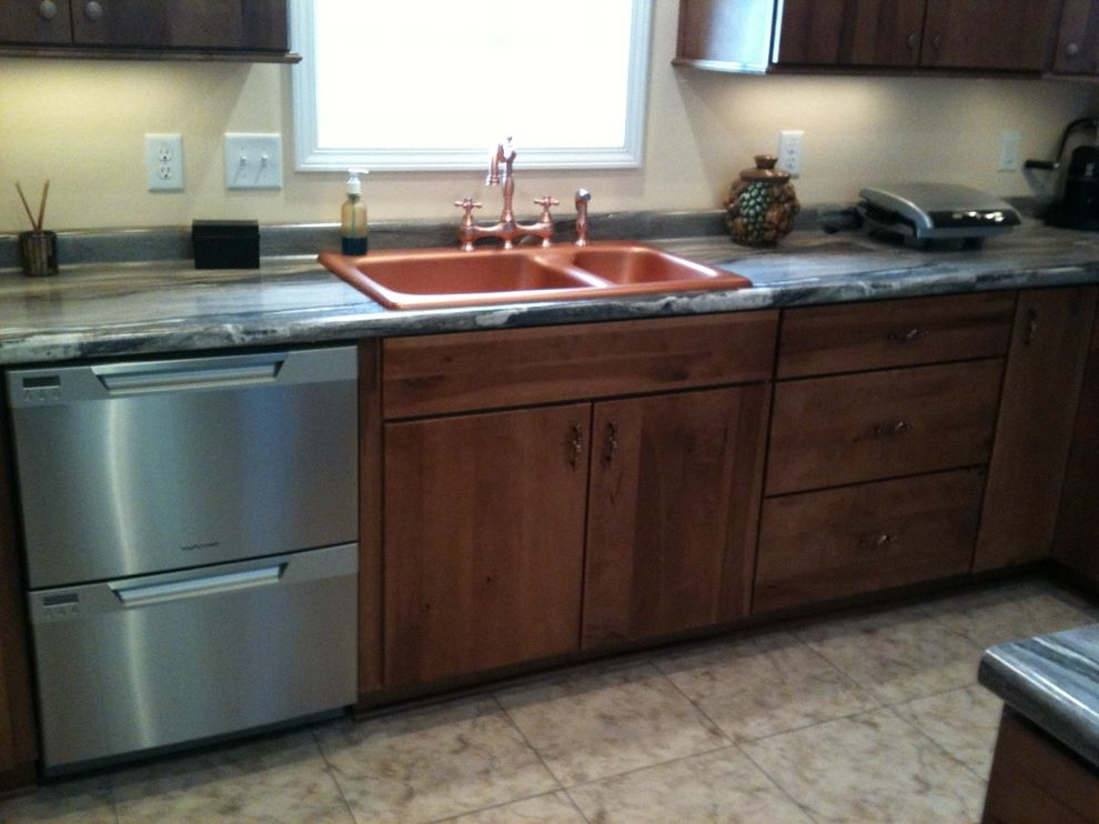 Southwire Carrollton Ga   Traditional Kitchen Also Copper Faucet Copper Sink Laminate Countertops