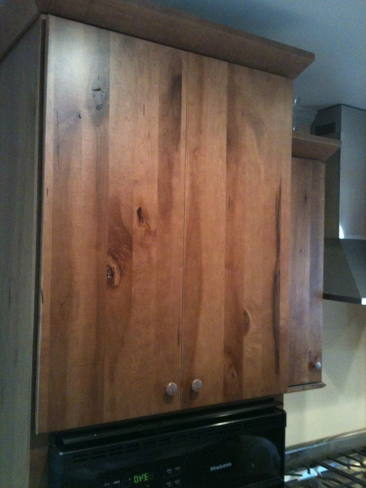 Southwire Carrollton Ga   Traditional Spaces Also Capistrano Maple Custom Wall Oven Cabinet Knotty Maple Cabinets Schuler Cabinetry
