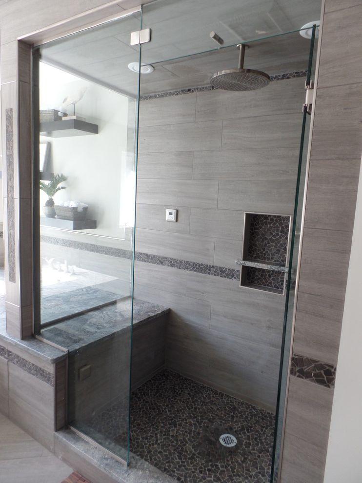 Spazio Braintree Ma   Traditional Bathroom Also Custom Bathroom Glass Porcelain Tile Steam Shower Stone Mosaic