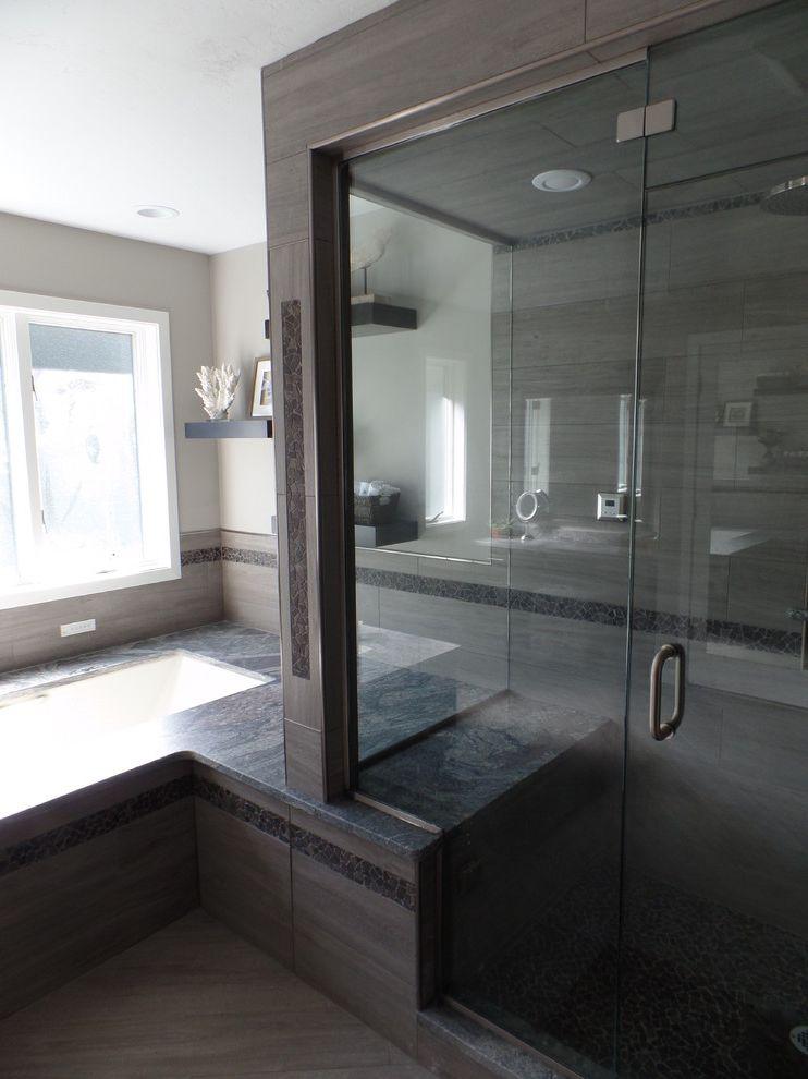 Spazio Braintree Ma   Traditional Spaces  and Custom Bathroom Glass Porcelain Tile Steam Shower Stone Mosaic