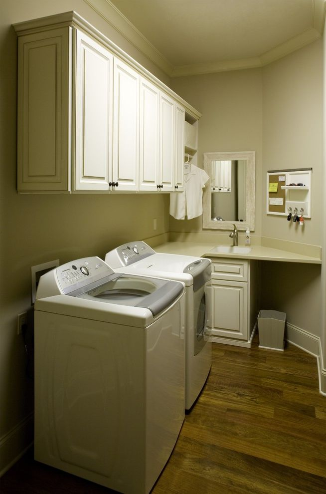 Speed Queen Top Loader with Contemporary Laundry Room  and Laundry Room Laundry Room Cabinets Laundry Room Storage
