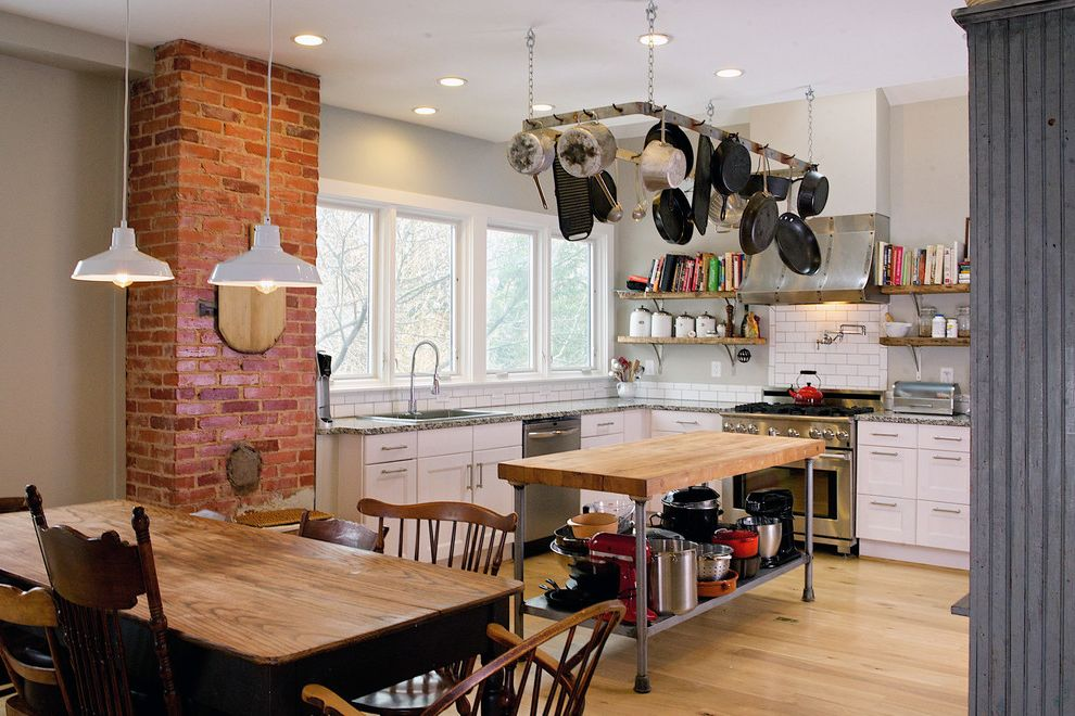 Speeds Auto Auction with Farmhouse Kitchen  and a Family of Four Takes Ownership of an Historic Home Last Up and Modern Touches Transformed It to a Bright and Spacious H Found Objects