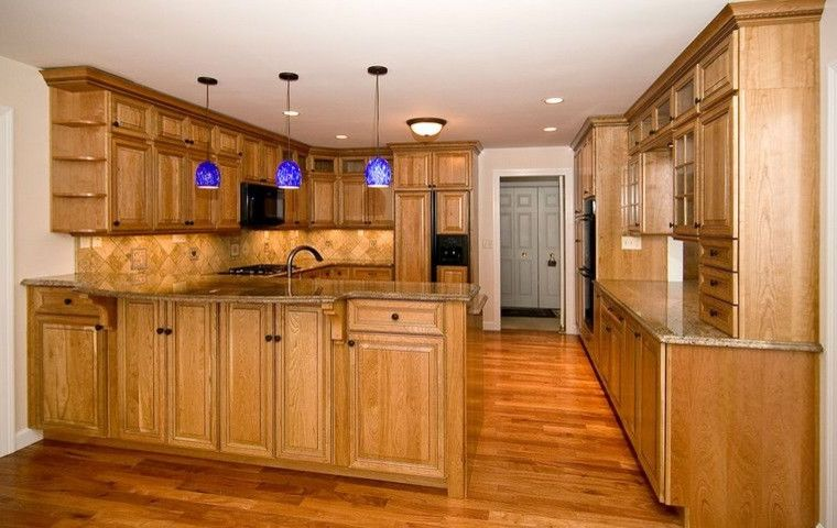 St Charles Hardwoods   Traditional Kitchen Also Amendoim Golden Hardwood Hardwood Heated Flooring