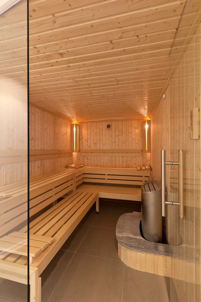 97 steam room vs sauna with contemporary home gym also for Sauna home