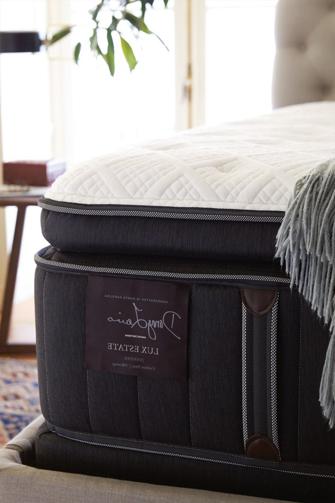 Stearns and Foster Lux Estate   Contemporary Bedroom  and Bed Bedding Handcrafted Mattresses