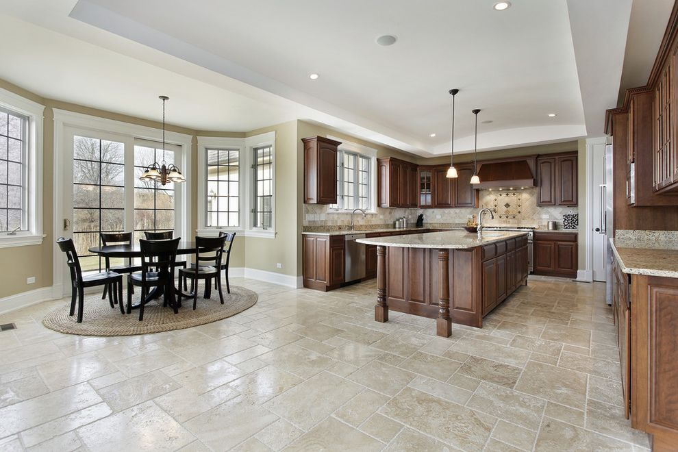 Stouts Carpet   Traditional Kitchen  and Traditional