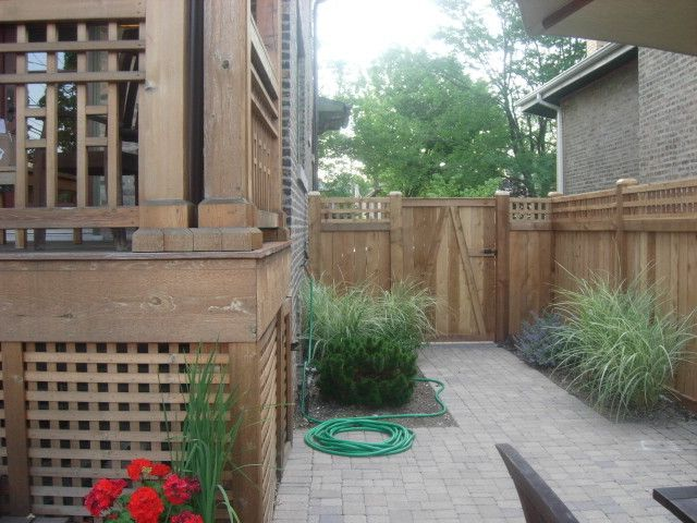 Straightforward Fence with Traditional Exterior Also Traditional