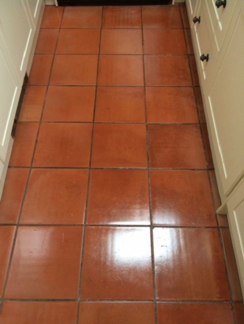 Stubborn in Spanish with Traditional Spaces  and Halifax Kitchen North West Yorkshire Spanish Terracotta Tiles Tile Cleaning Tile Sealing